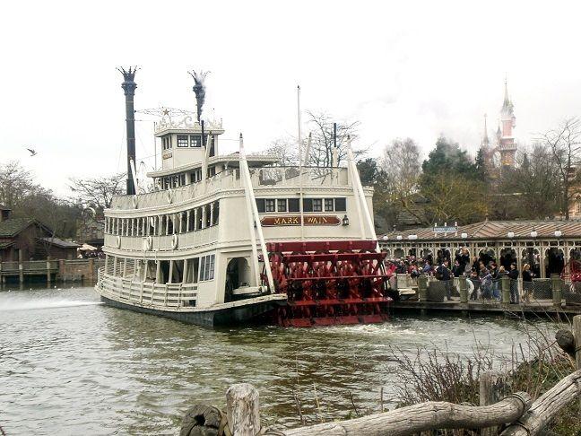 Disneyland Paris Schiffahrt