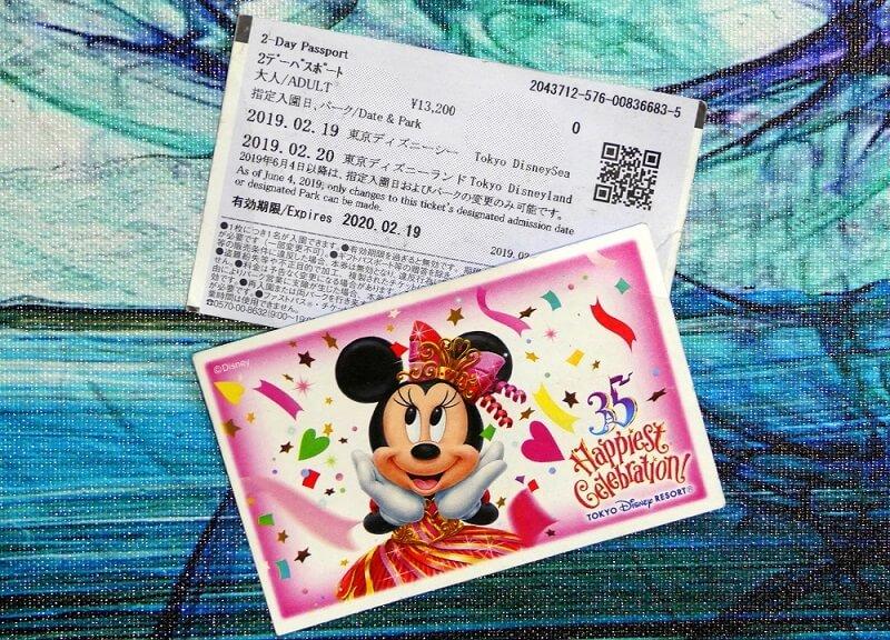Eintrittskarte Disneysea Tokio