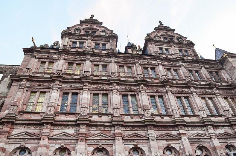 Heidelberger Schloss ansicht