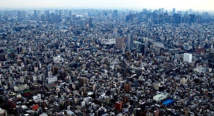 Aussicht vom Tokio Skytree