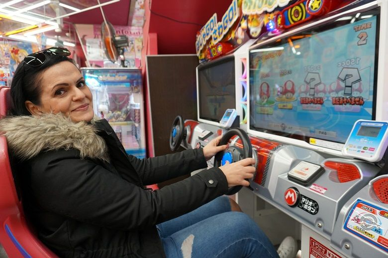 Mario Kart fahren in Akihabara