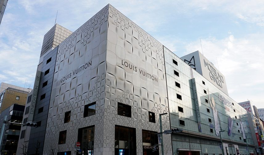 Louis Vuitton Geschäft Tokio Ginza