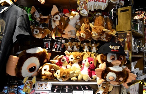 Gremlins im Shop Village Vanguard in Shibuya Tokio