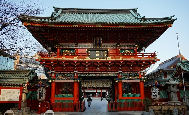 Kanda Myōjin Schrein in Akihabara