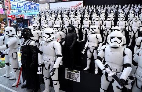 Star Wars bei Yodobashi Akiba