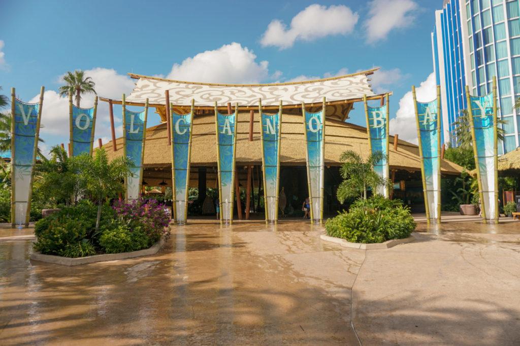 volcano bay wasserpark eingang