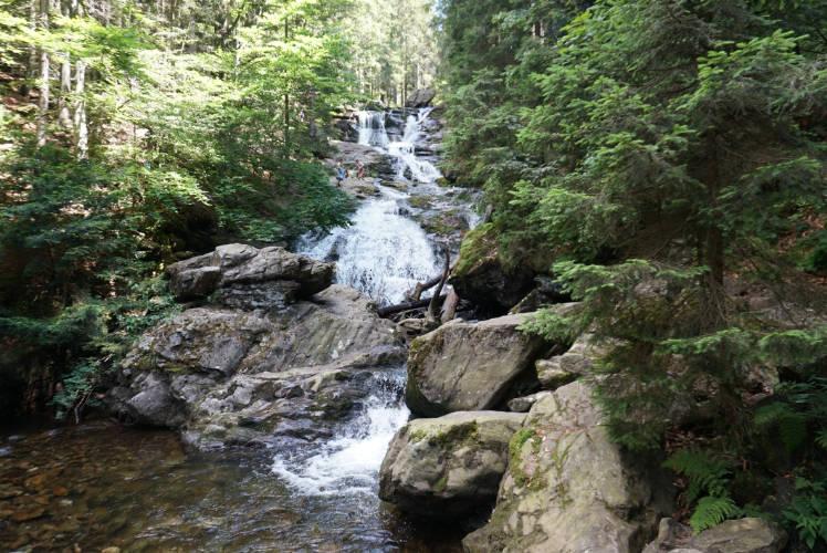 Rißlocher Wasserfälle Bodenmais