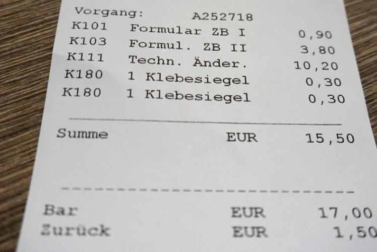 Kosten Wohnmobilzulassung für Kastenwagen