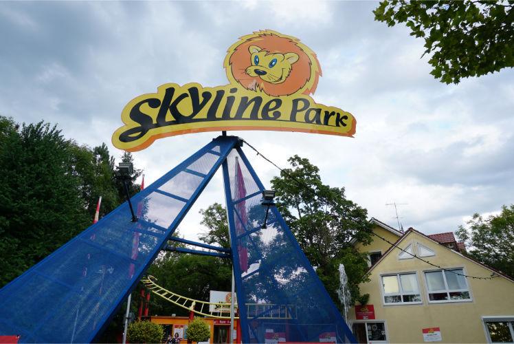 Attraktionen im Skylinepark