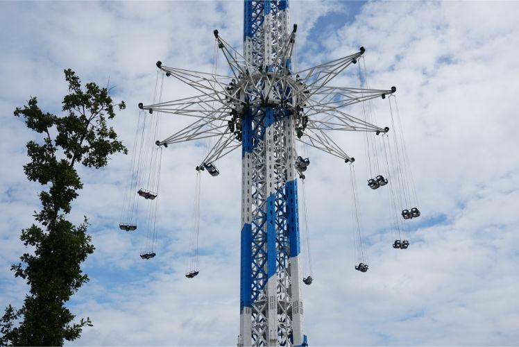neue Attraktion im Skyline Park Kettenkarussel