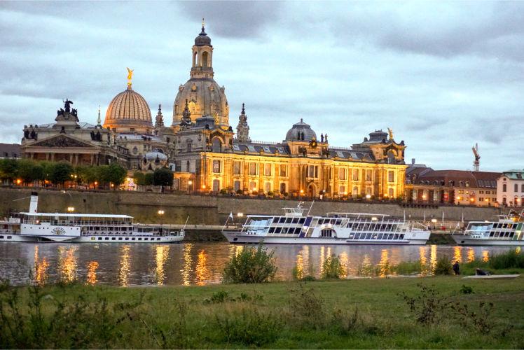 Dresden Skyline Sehenswürdigkeiten