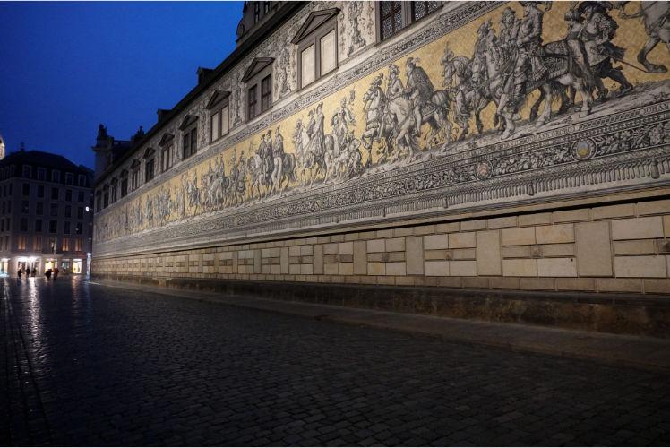Fürstenzug Dresden Sehenswürdigkeit