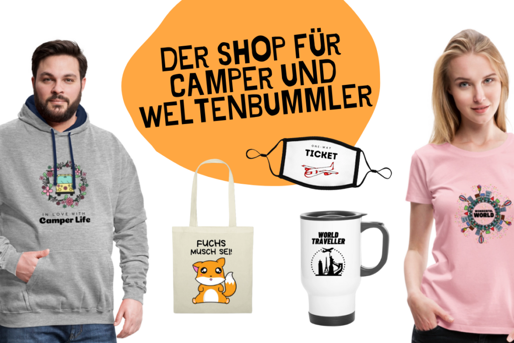 Shop Weltreise Tshirt